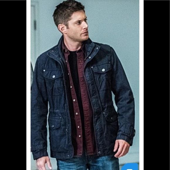 787d76f2 Jackets & Coats | Dean Winchester Navy Blue Fan Jacket Nwt L | Poshmark